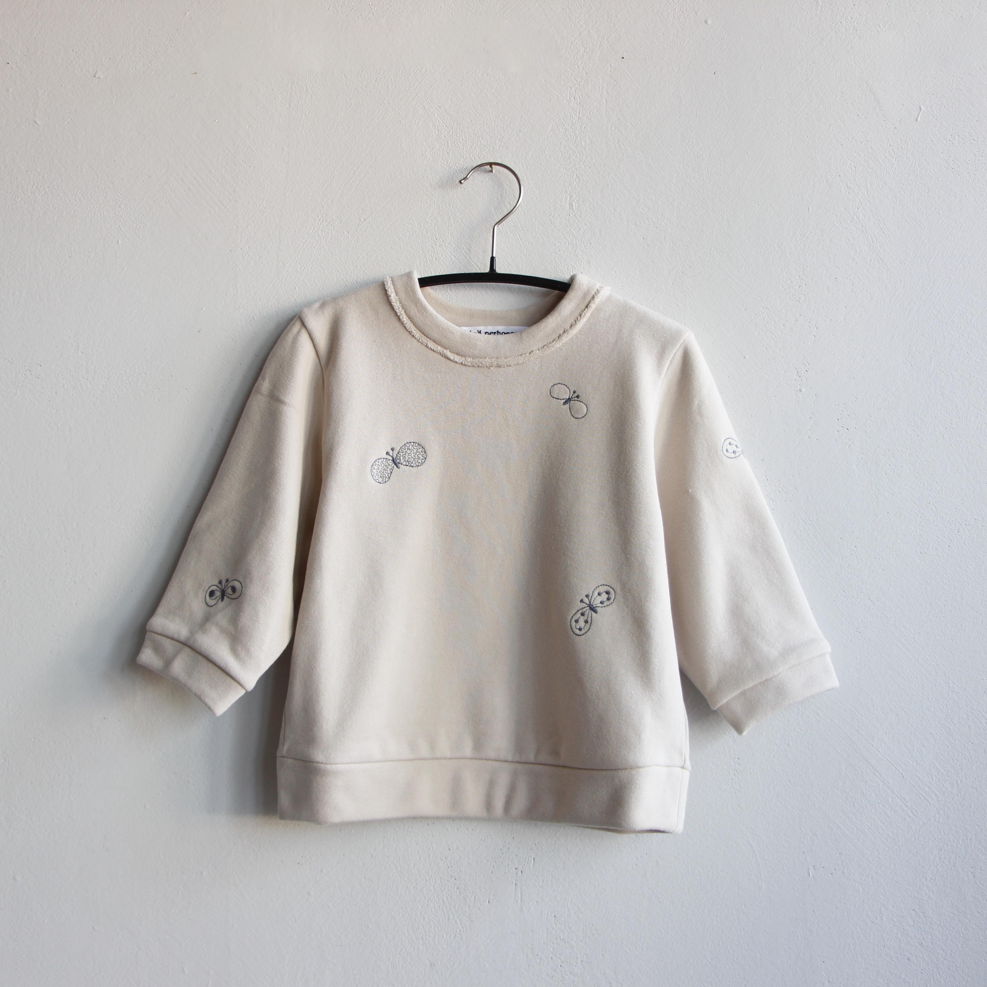 《mina perhonen 2020AW》choucho プルオーバー / beige / 80-100cm