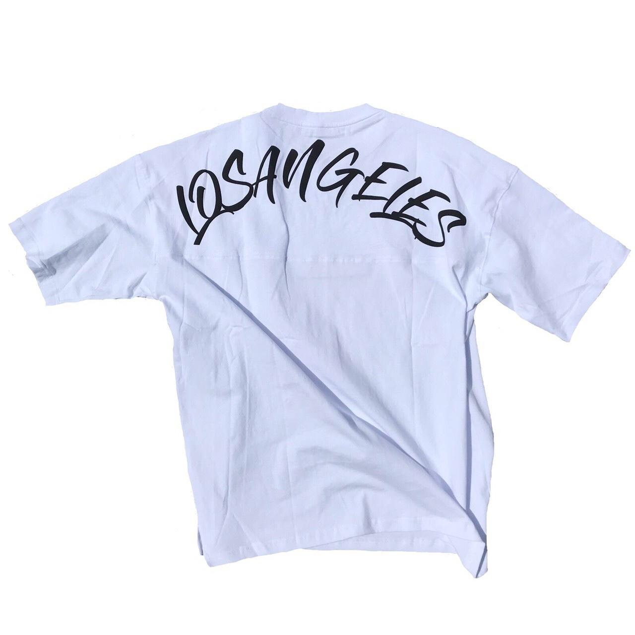 LosAngeles Big Tee【White】