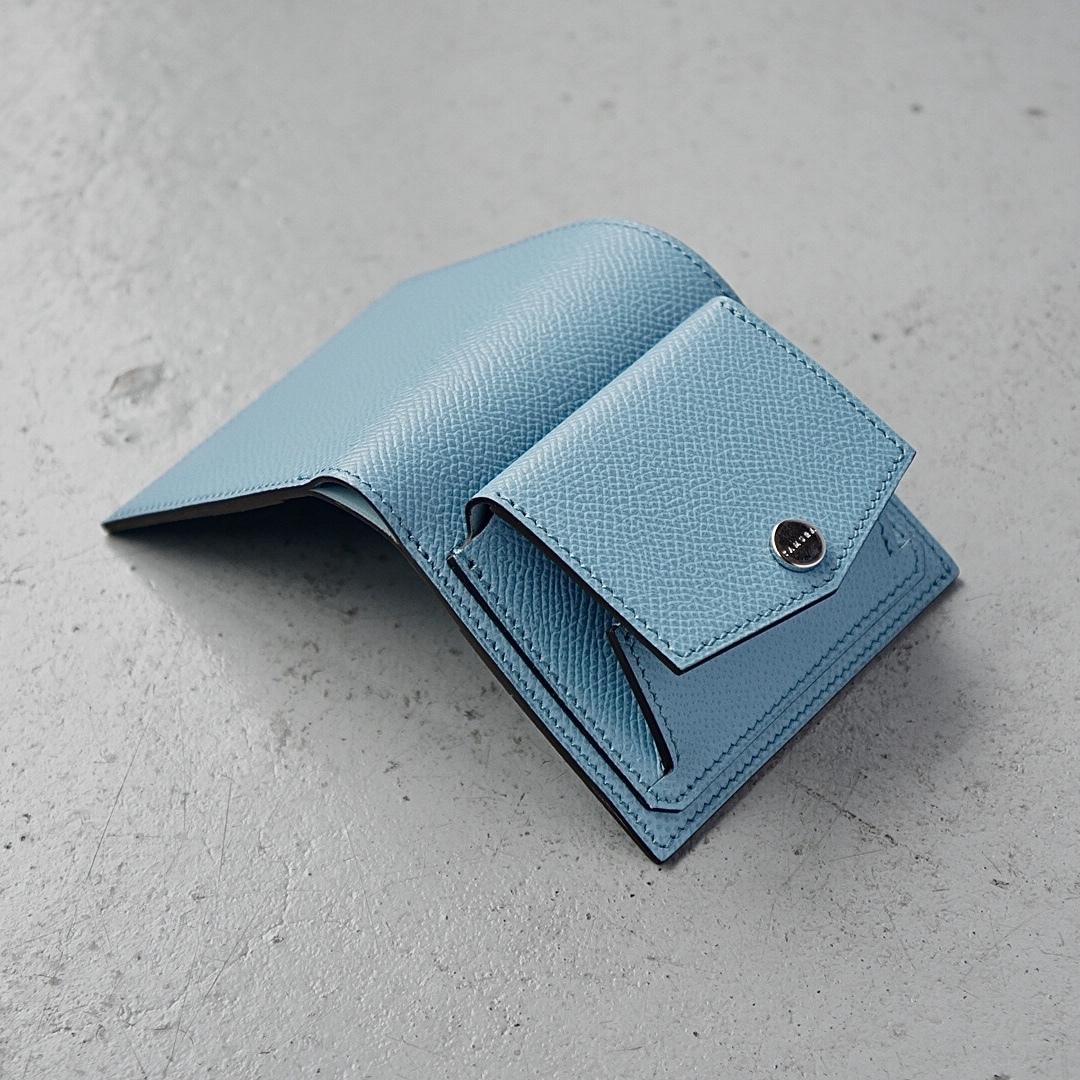 ミニ財布<Shaula / S - type> ジーンブルー