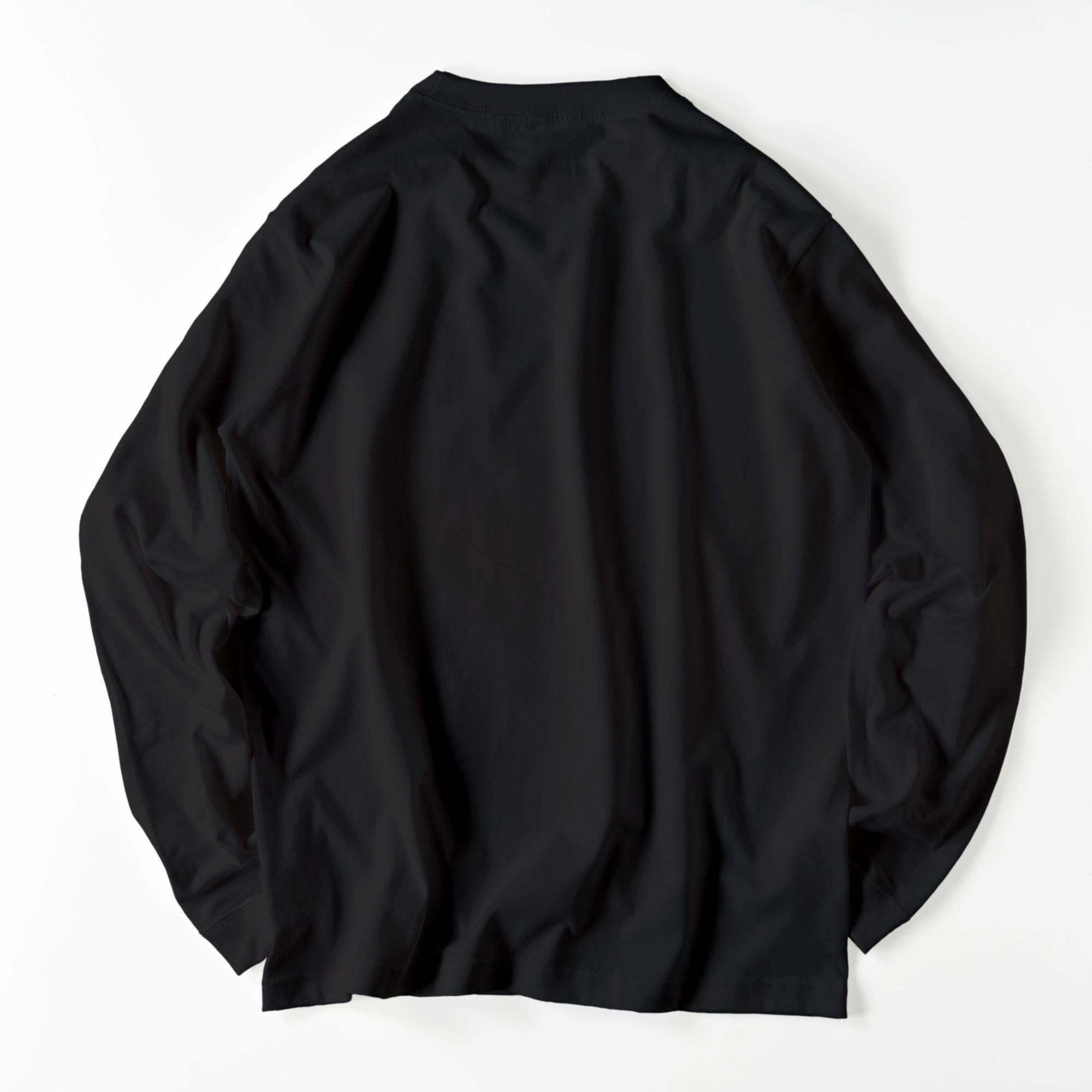 和柄/利休梅柄/BLK【京都和モダンTシャツ】©mayu_color.888