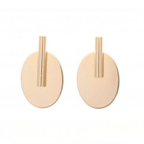 Sea'ds mara/シーズマーラ Ellipse bar earring earring/pierce 21A2-37