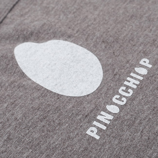 ピノキオピー 銀シャリTシャツ(レディース/玄米バージョン) - 画像3