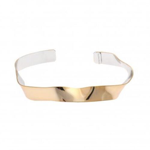 Sea'ds mara/シーズマーラ bi-color wave bracelet 21A2-24