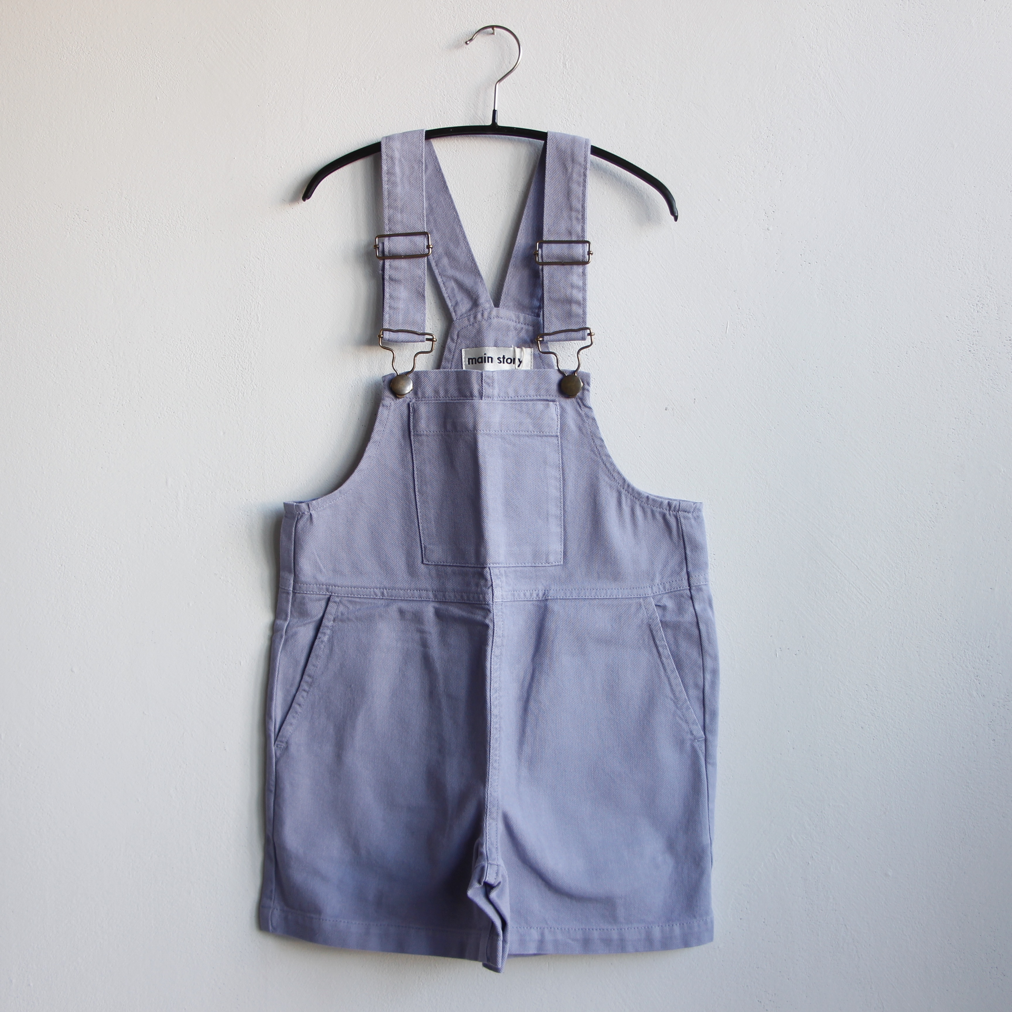 《main story 2021SS》Short Dungaree / Eventide