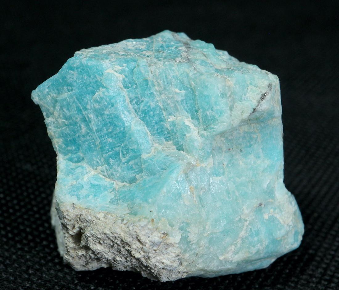 自主採掘!アマゾナイト カリフォルニア産 原石 49,2g AZ0048 天河石(てんがせき) 鉱物 天然石