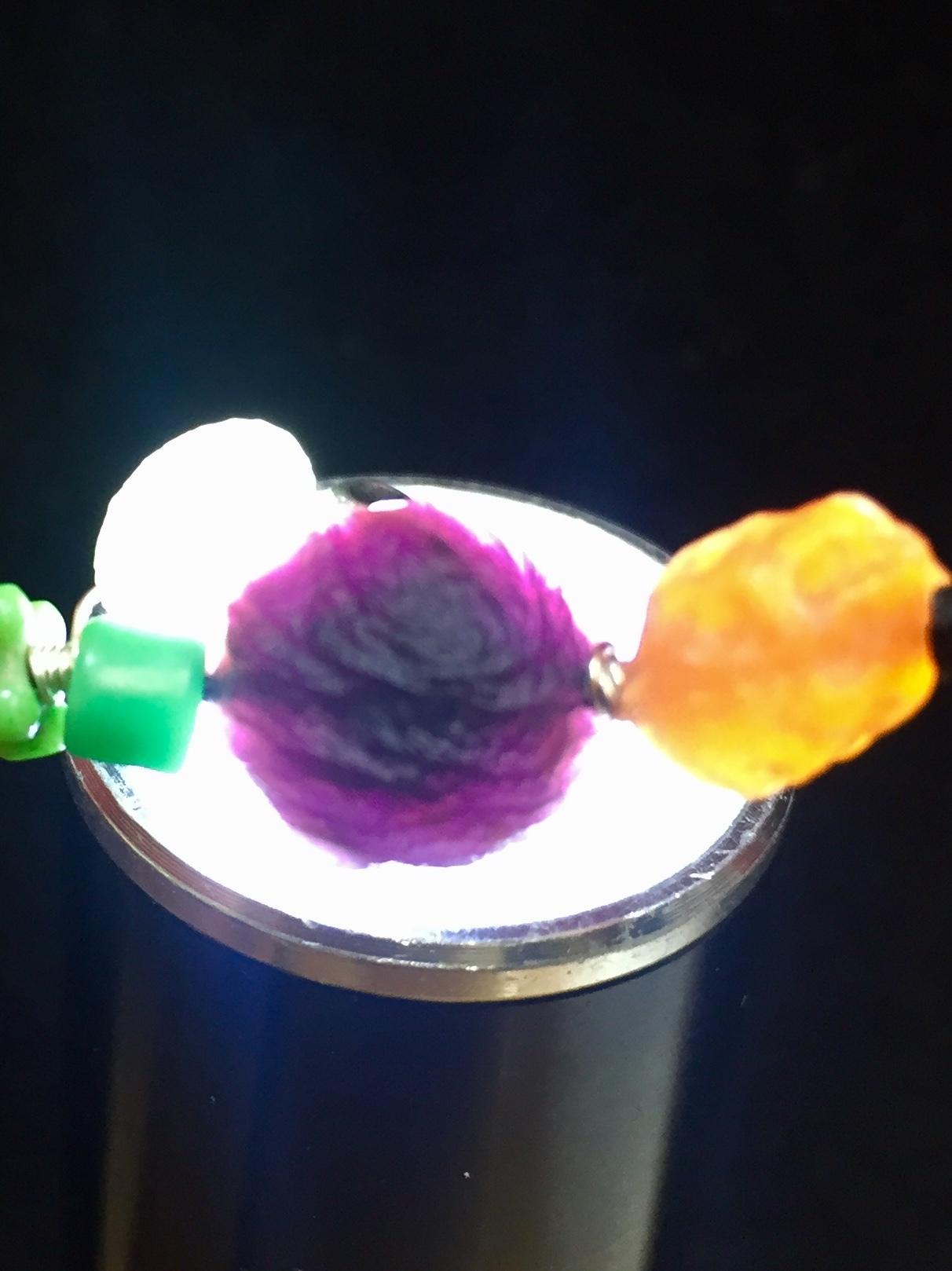 10) 紫ゴビアゲート「卑弥呼」ペンダントA