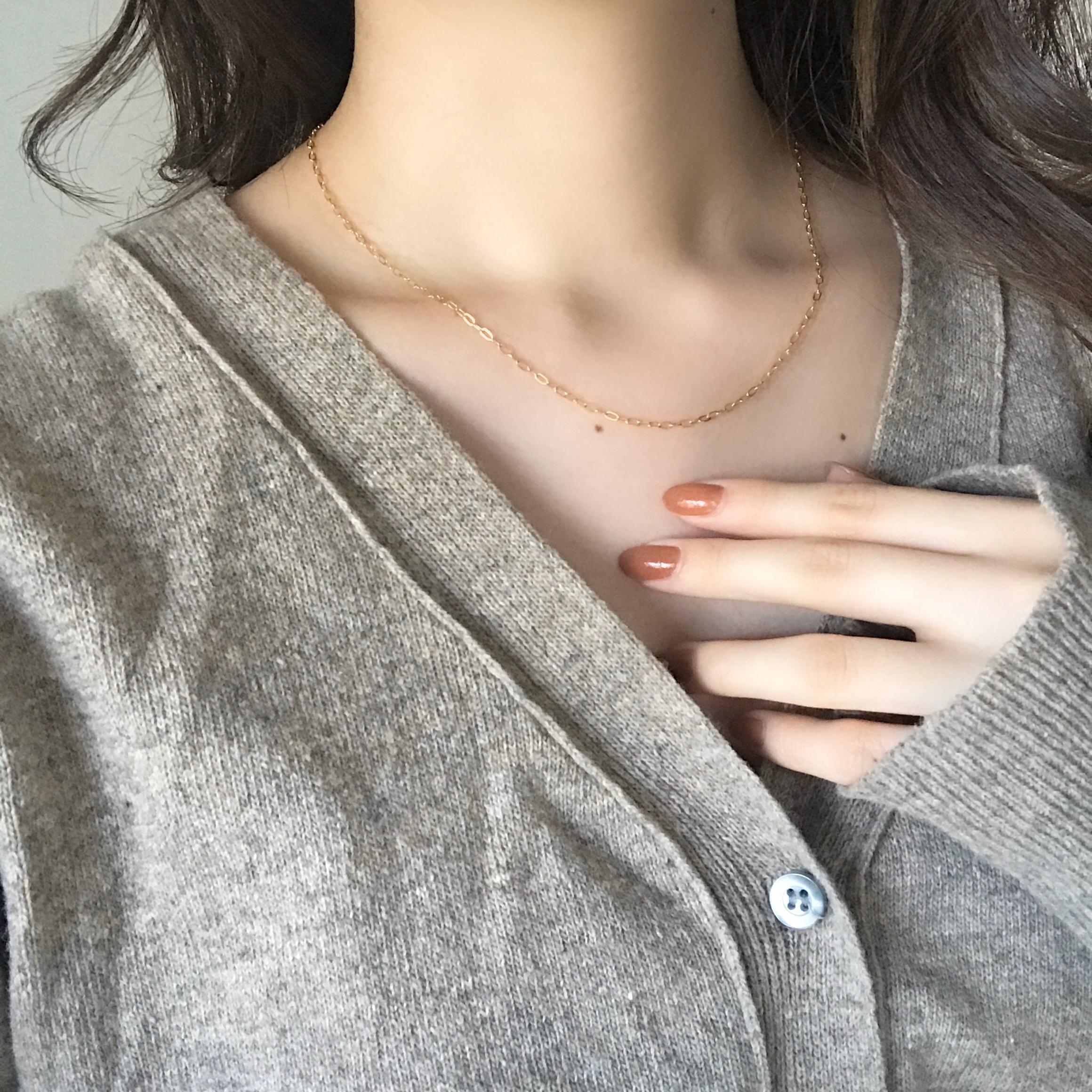 hug necklace(14kgf)
