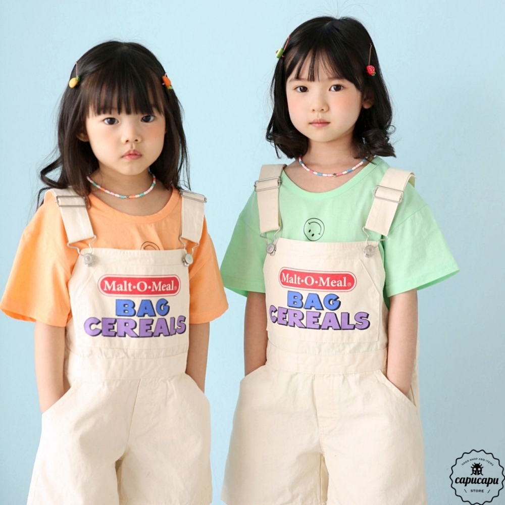 «sold out»«ジュニアサイズ» bubble kiss short overall ショートオーバーオール