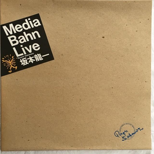 【LPx2・国内盤】坂本龍一  /  Media Bahn Live