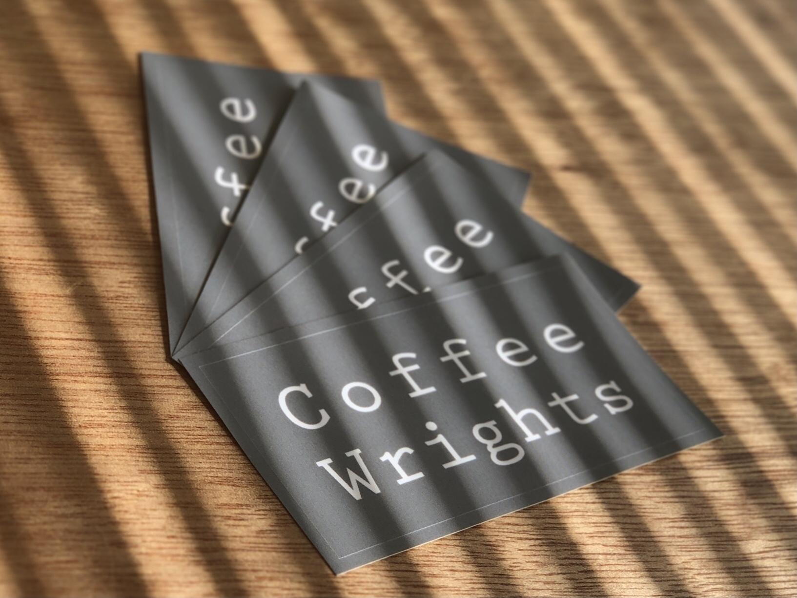 *Coffee Wrights Sticker / オリジナルステッカー