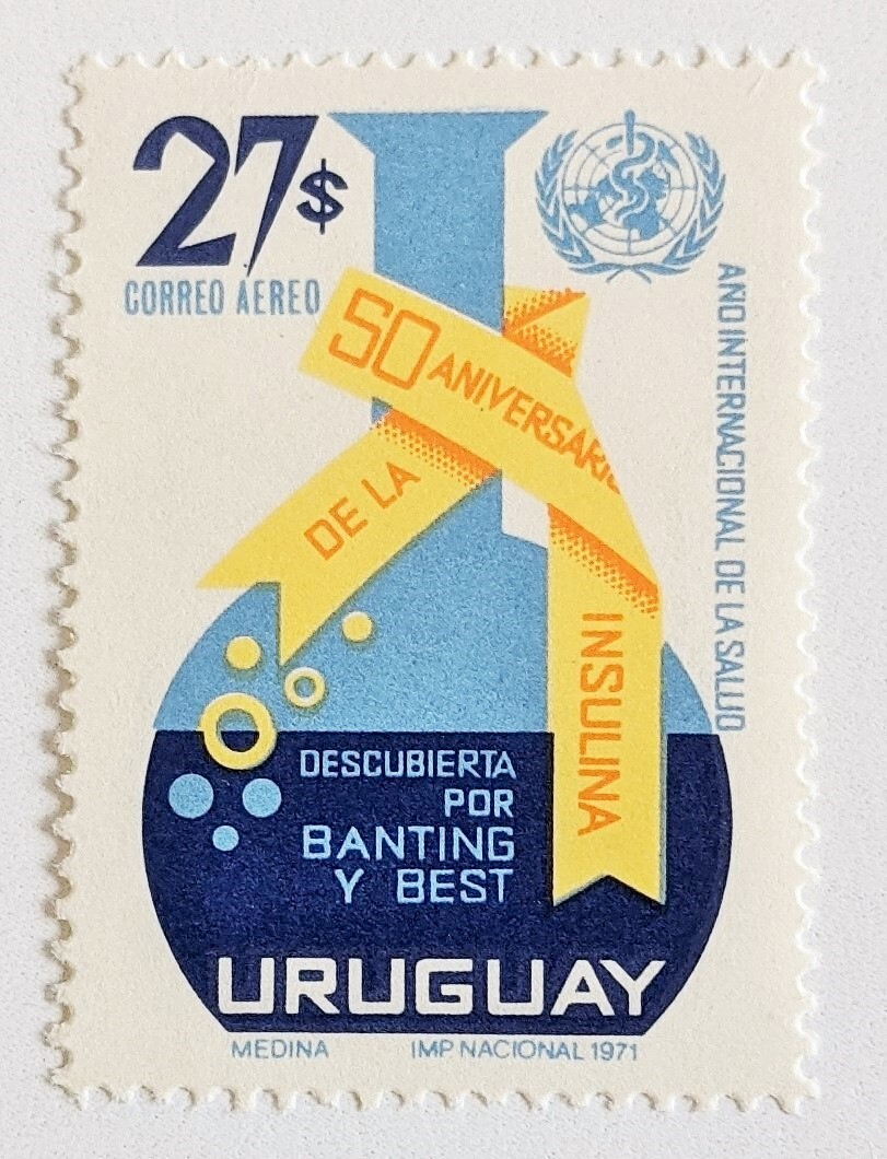 インシュリン発見50年 / ウルグアイ 1971