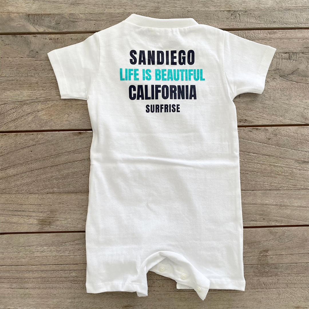 ★Baby★ SANDIEGO Rompers - White