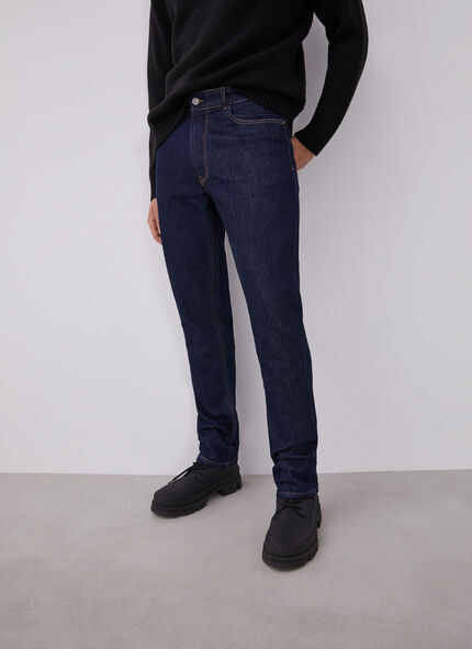 SLIM FIT JEANS WITH FIVE POCKETS