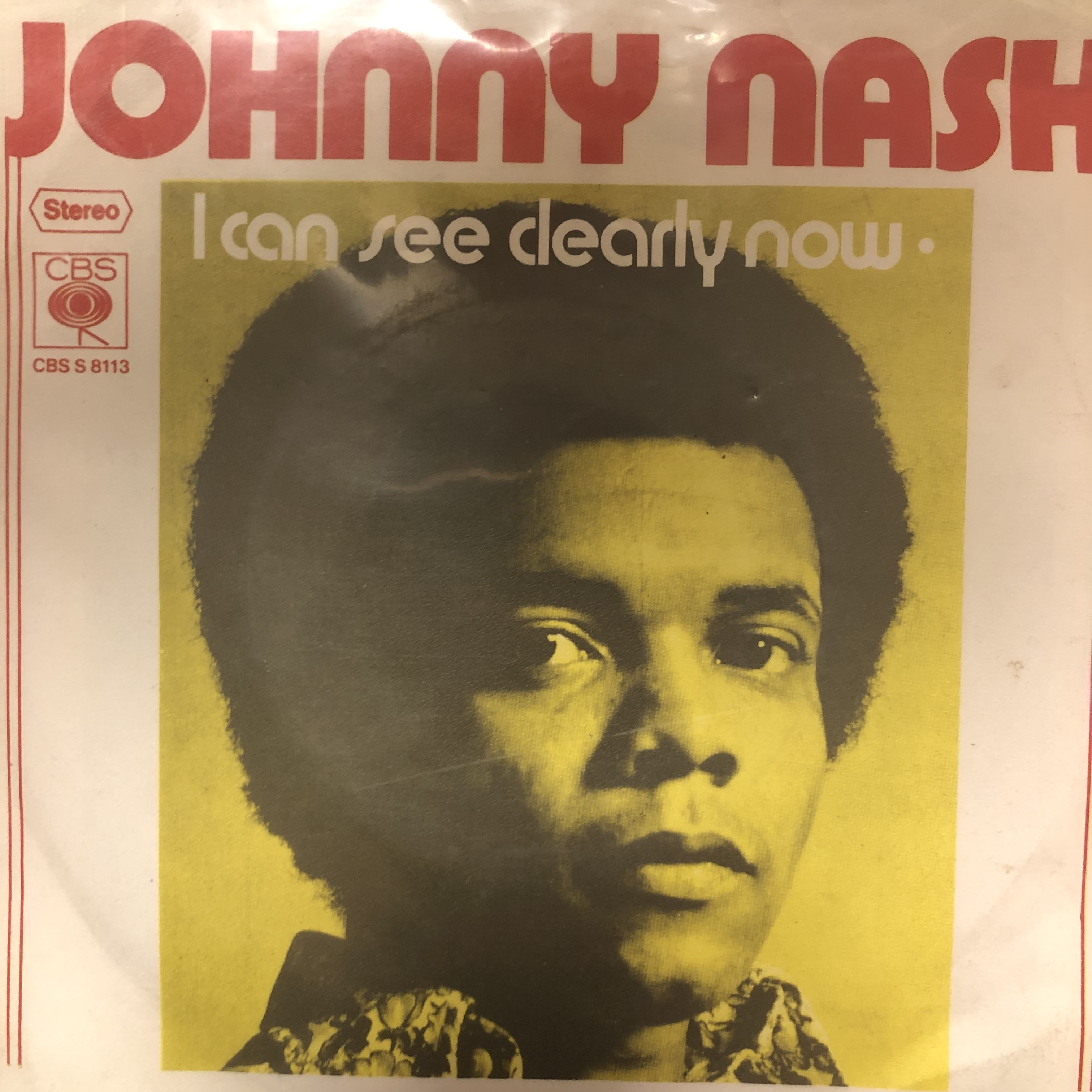 Johnny Nash - I Can See Clearly Now【7-20492】