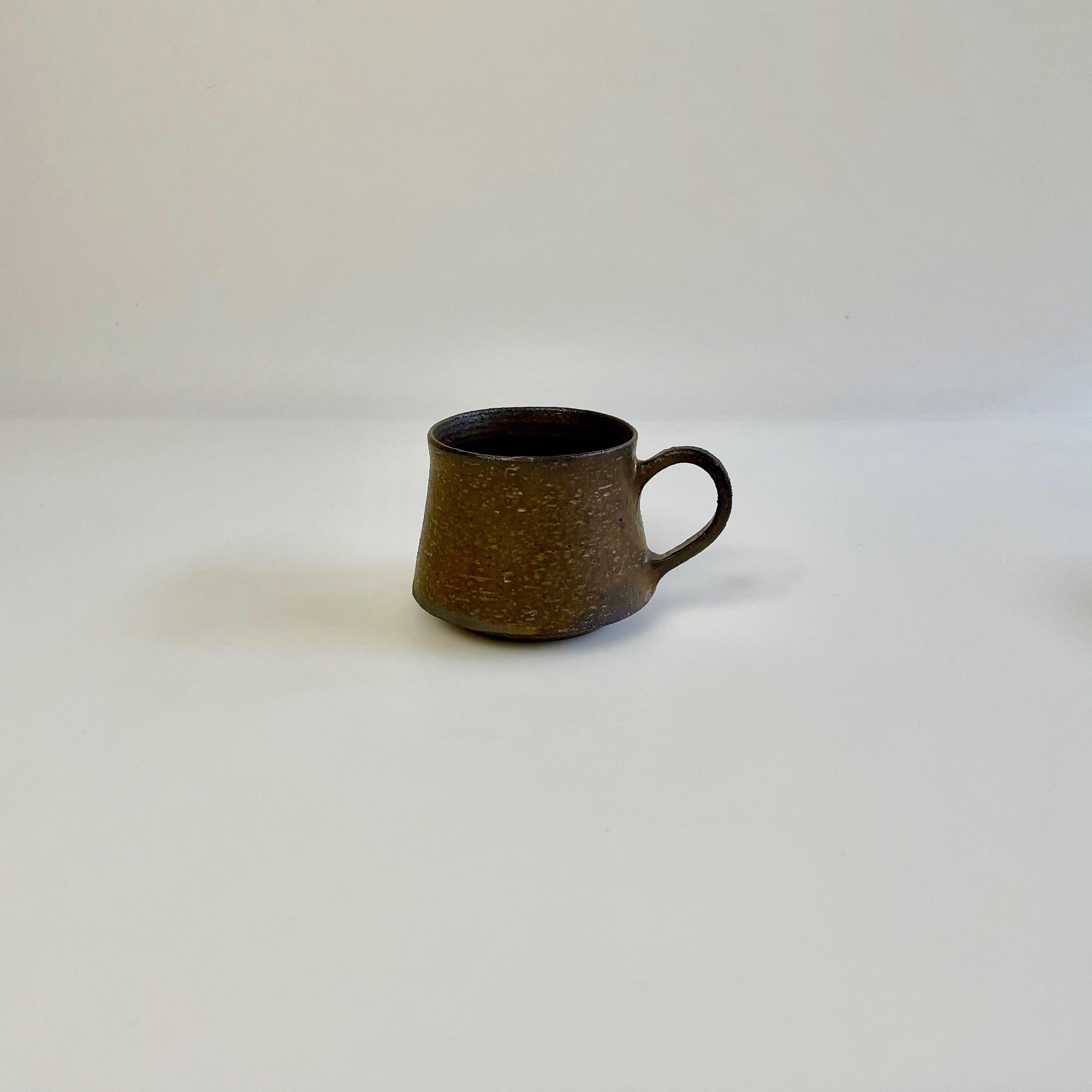 水野幸一   銅彩釉 コーヒーカップ