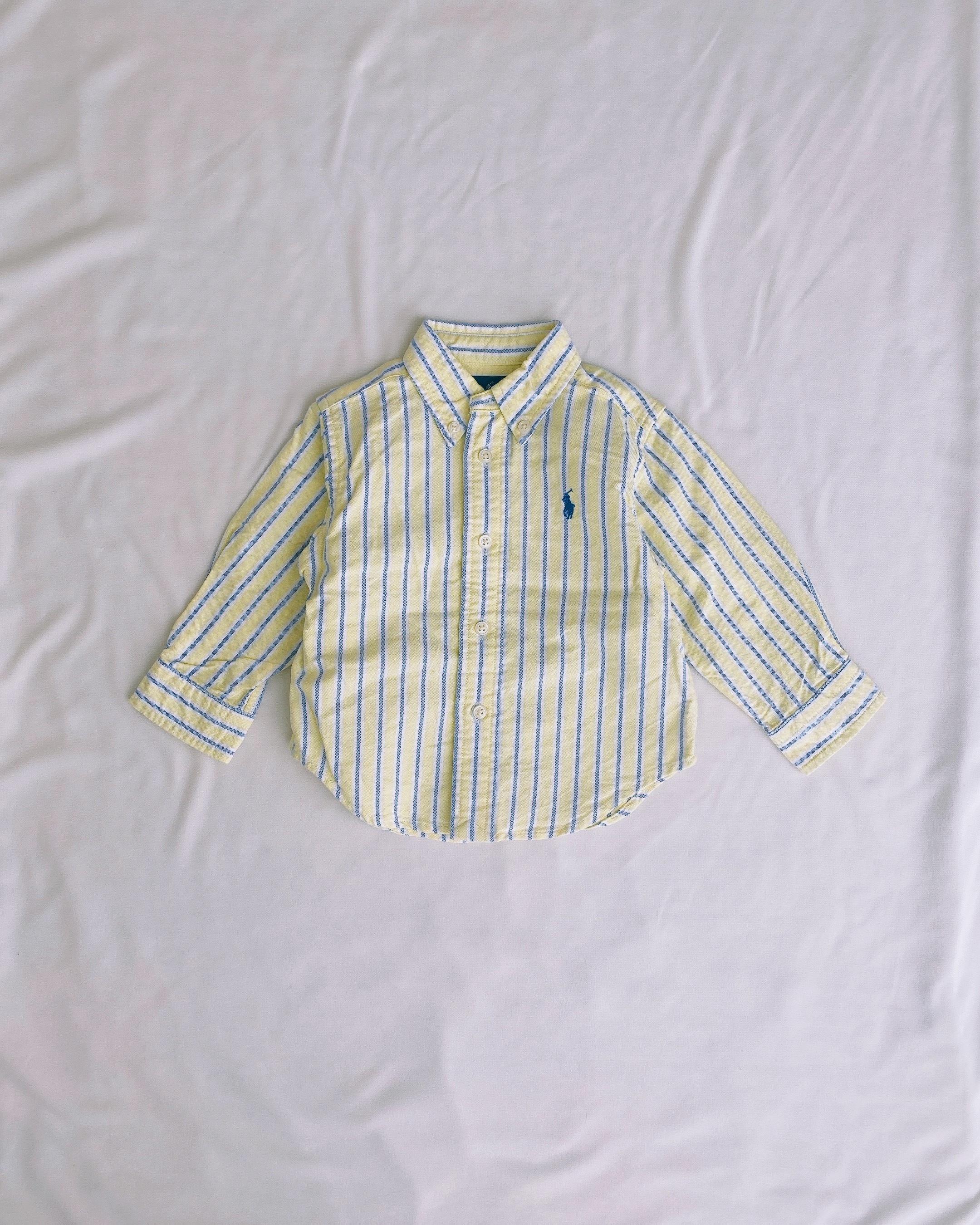(KD134)80cm Ralph Lauren stripe BD shirts