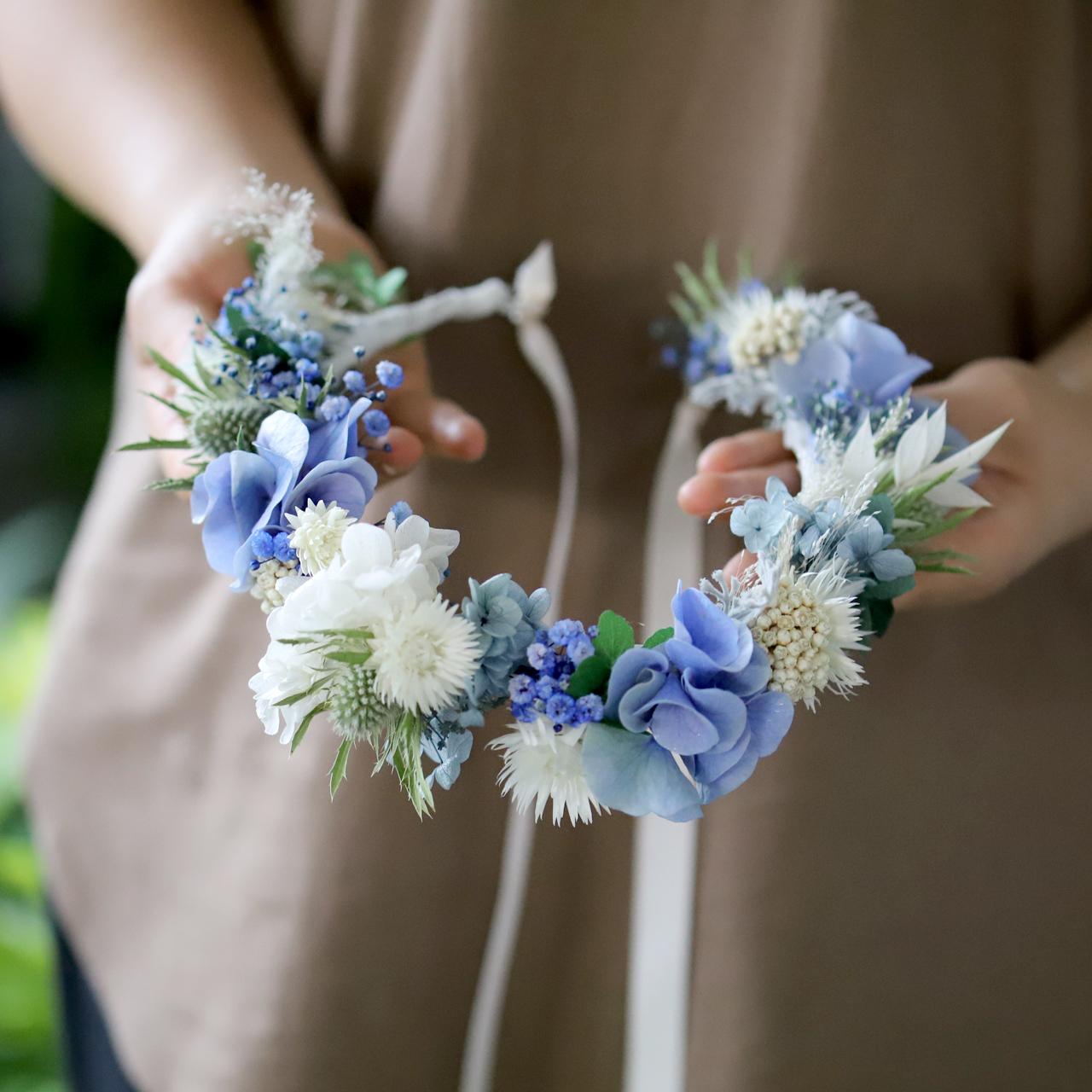 ハレな花かんむり