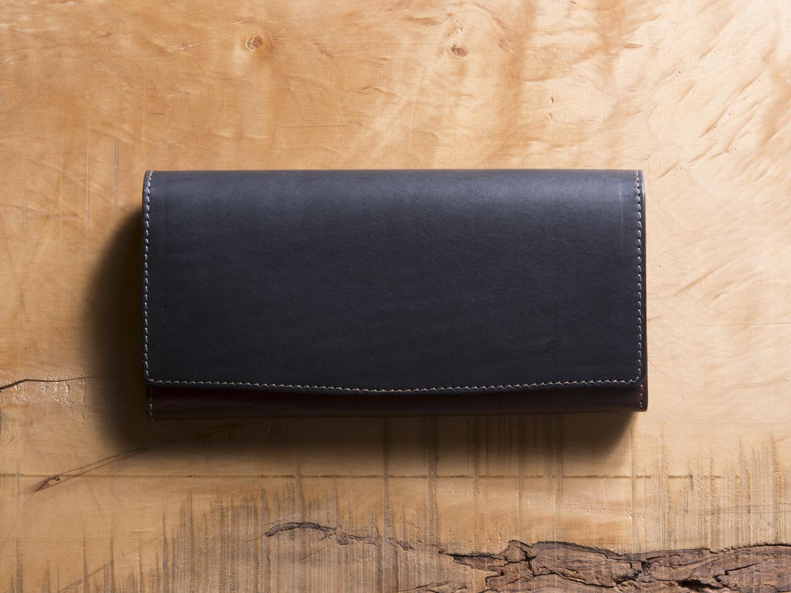 Basic Long wallet #ネイビー