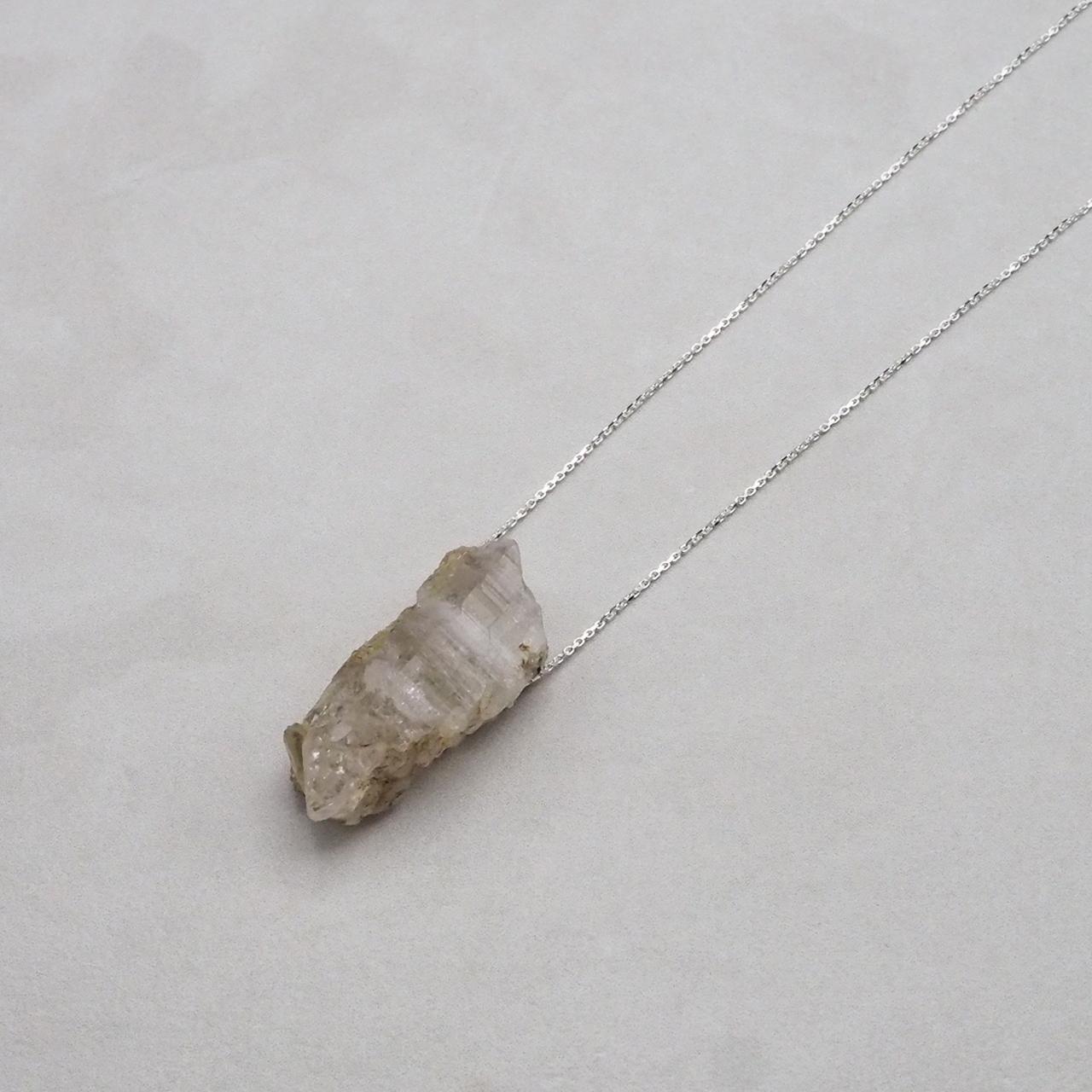 Pink Himalayan Crystal Necklace Pendant_No.12700420