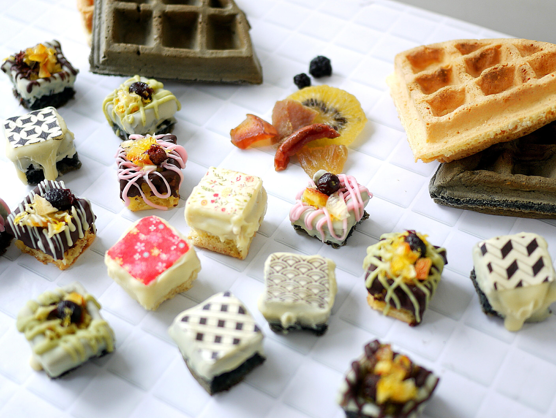 Koso Waffle Cube竹炭タイプ/5個入