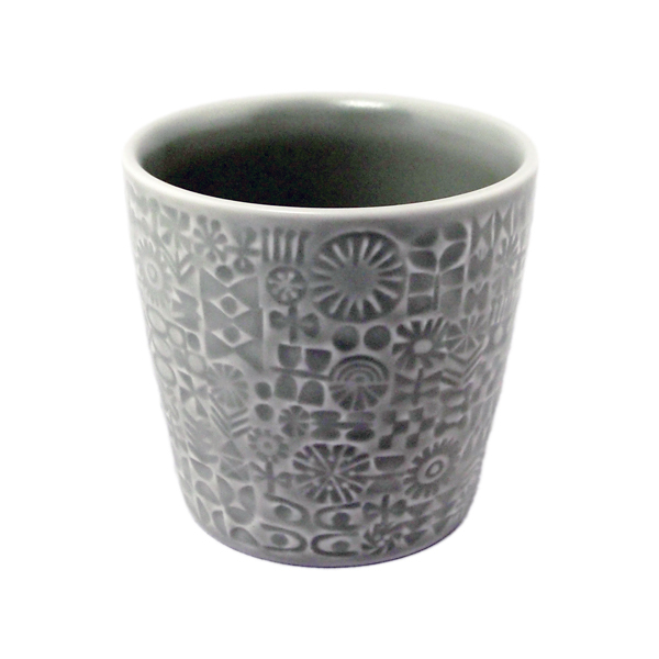 BIRDS' WORDS Patterned Cup morning mist