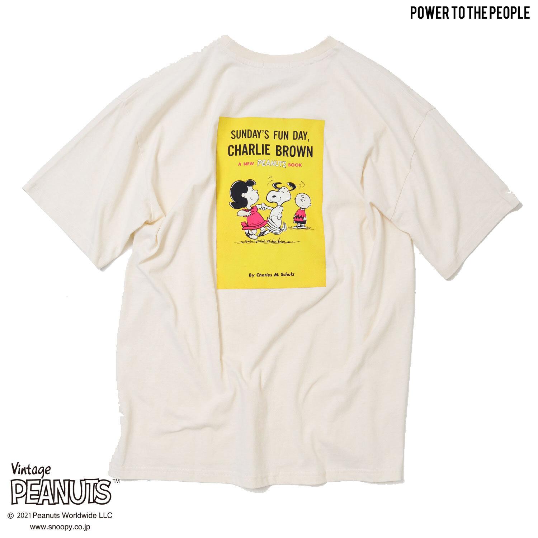 <PEANUTS>コミック柄プリント Tシャツ NO1515010