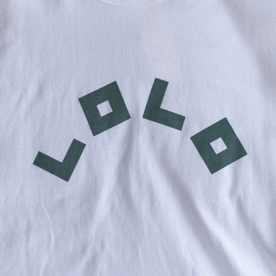 LOLO ロロ  LOLO ロゴTシャツ