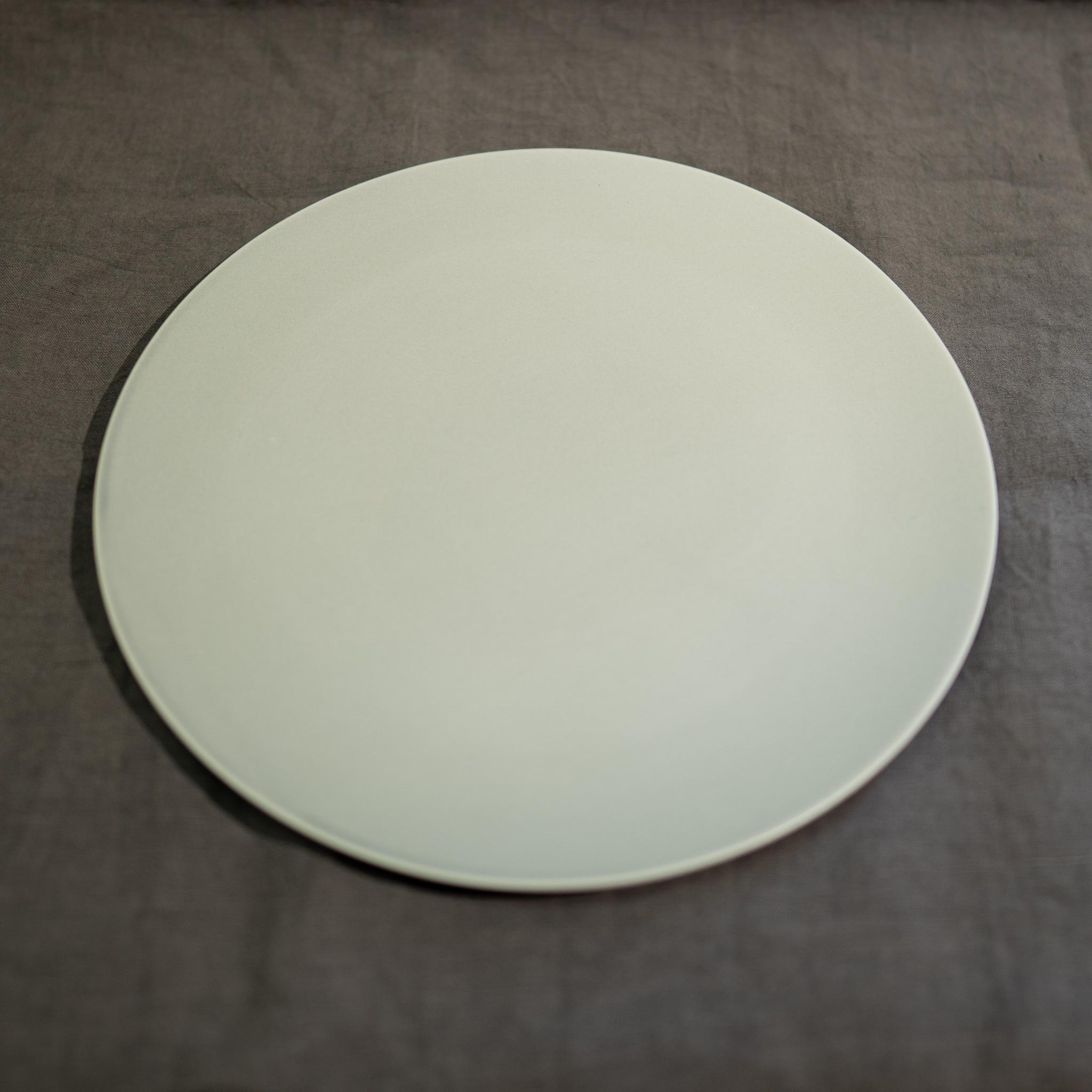 Stone プレート リッチホワイト 18cm