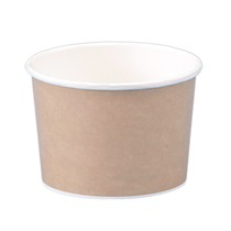 16オンス アイス&スープカップ (クラフト風)
