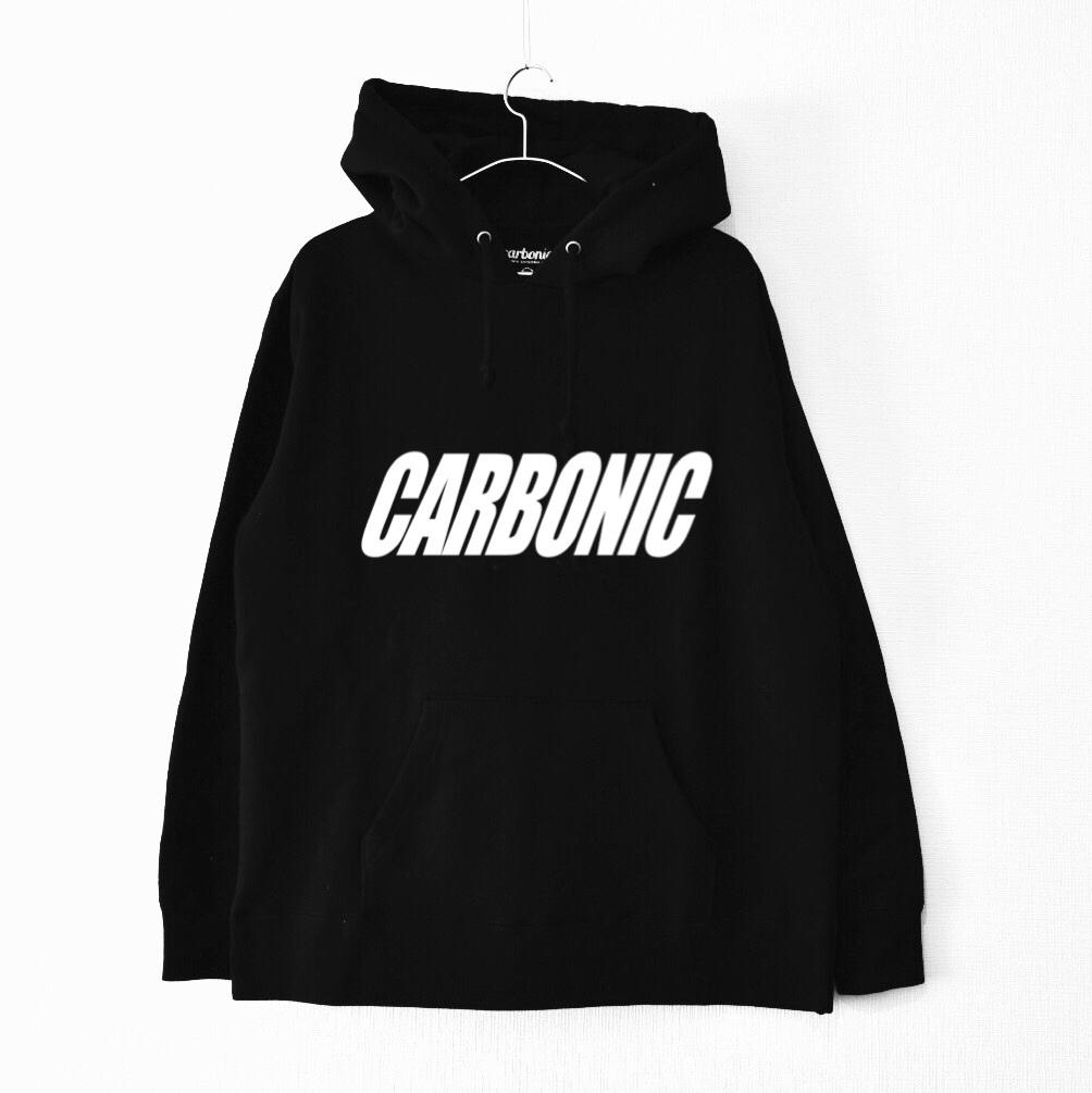 carbonic SLANT logo hooded parka