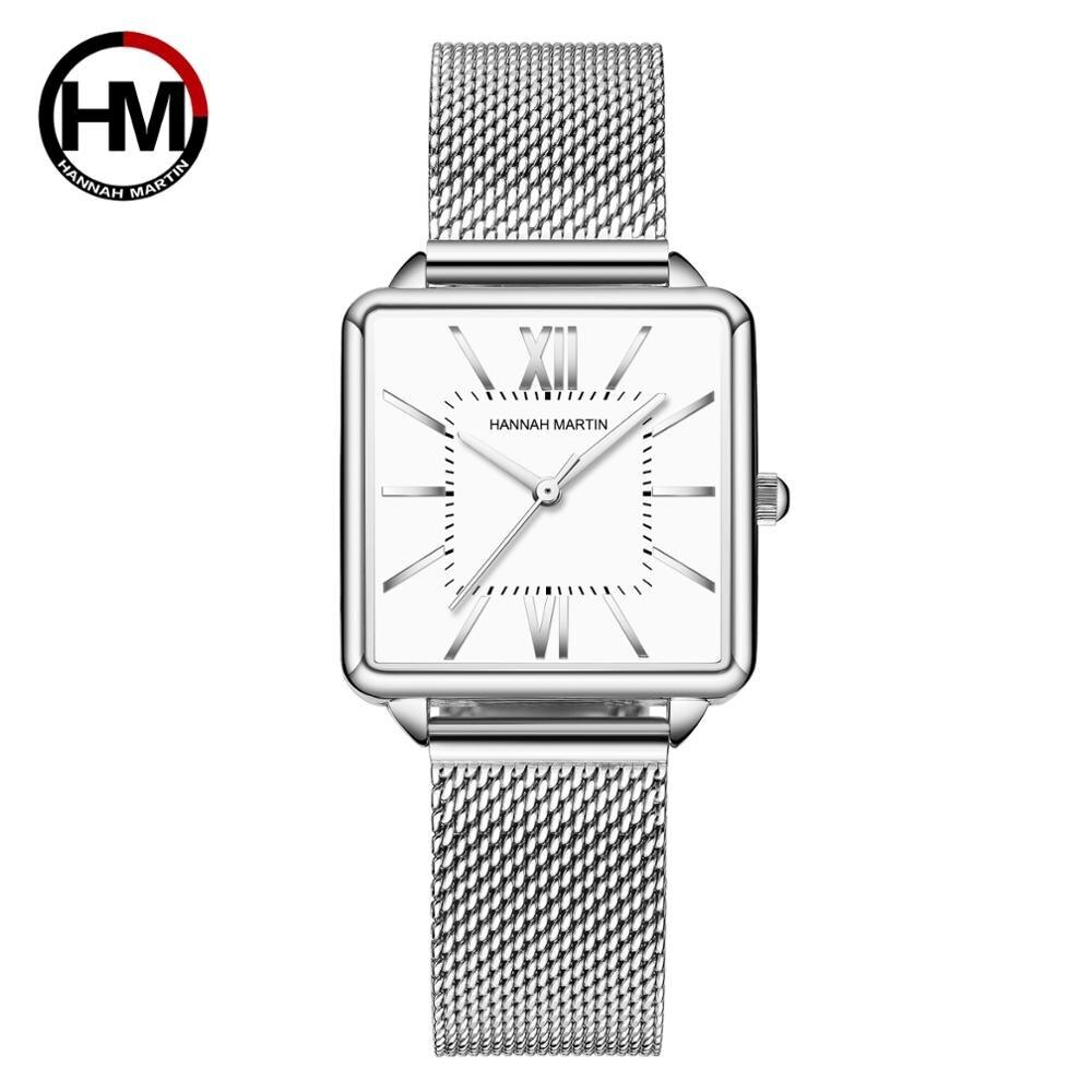 日本クォーツムーダイヤルローマ広場の時計ケースstanless鋼ファッション腕時計レディースローズゴールドは、女性の1082BWYY