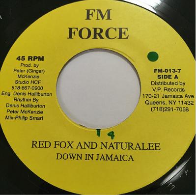 Red Fox (レッドフォックス), Naturalee (ナチュラリー) - Down In Jamaica【7'】