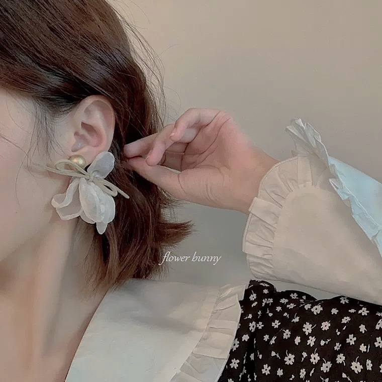 flower ribbon pierce