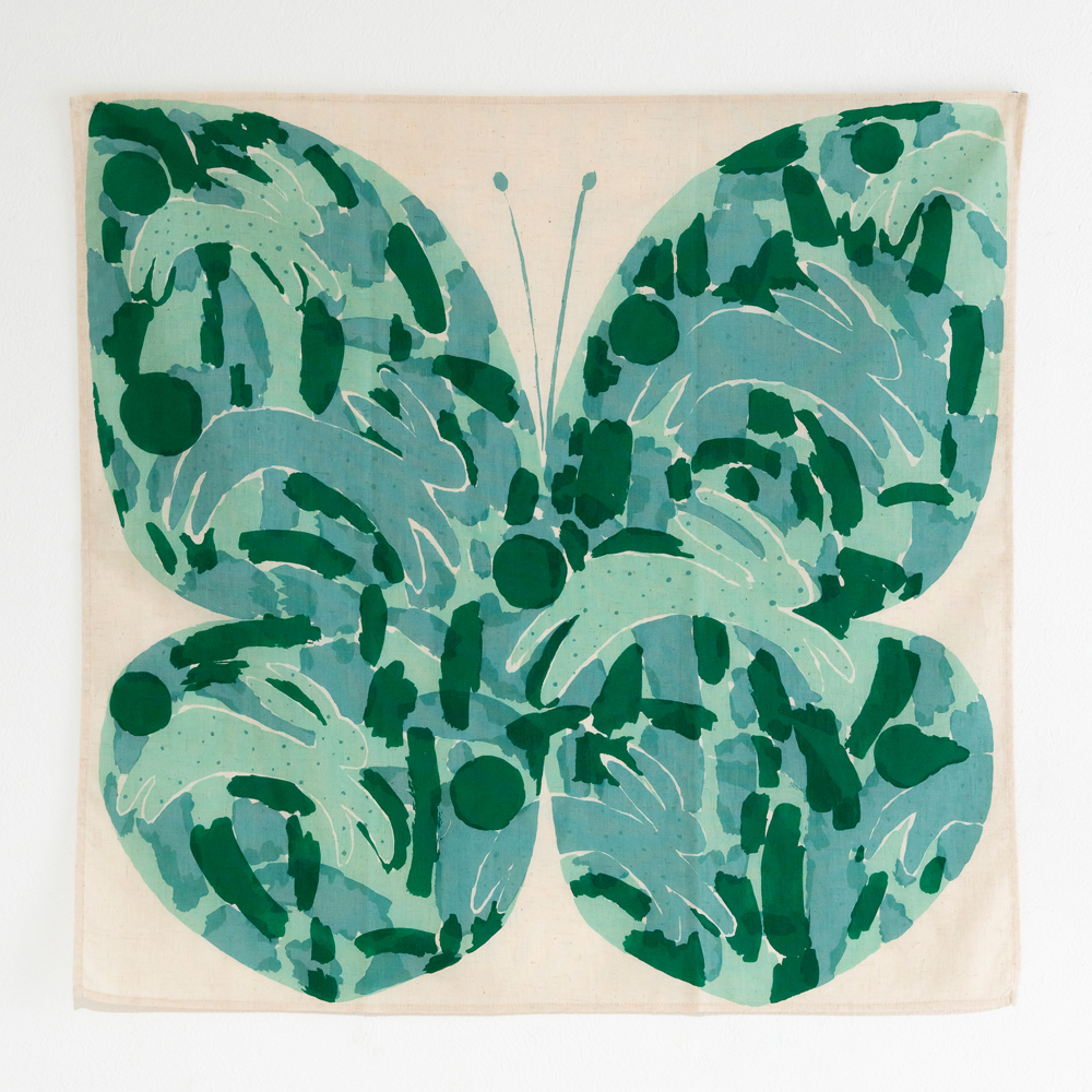 Rabbit (green)   chiaki fujii