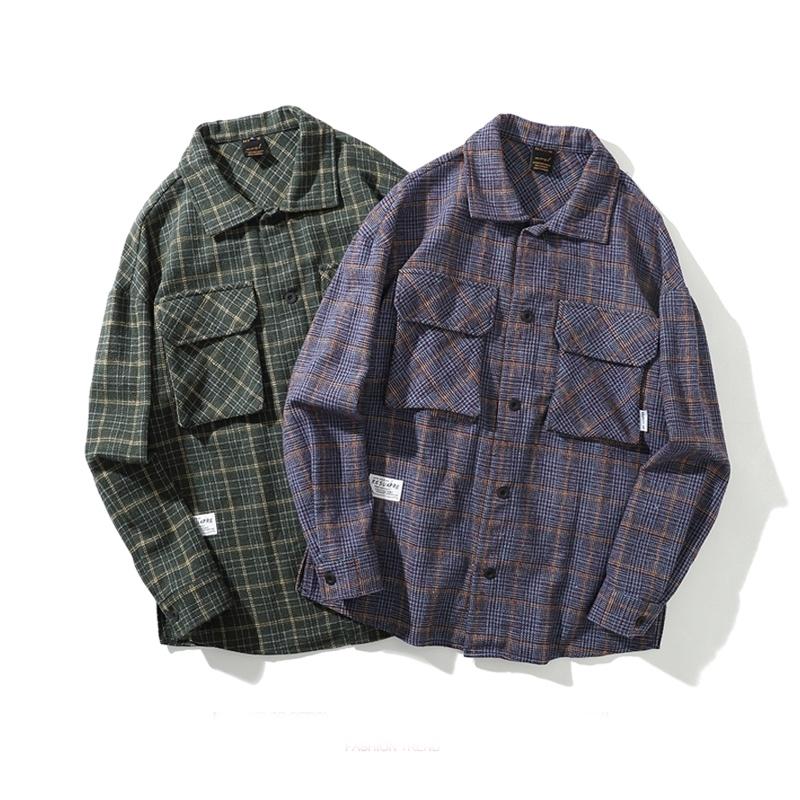 【UNISEX】フランネルシャツ【2colors】
