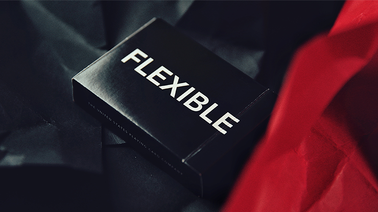 FLEXIBLE (Black) Playing Cards by TCC