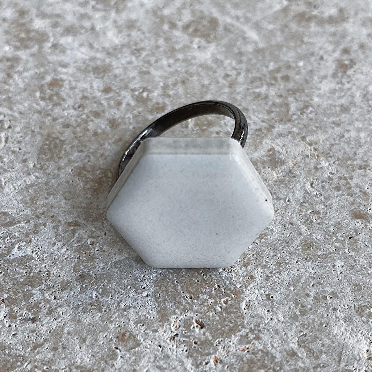 リングパレット WHITE (小)