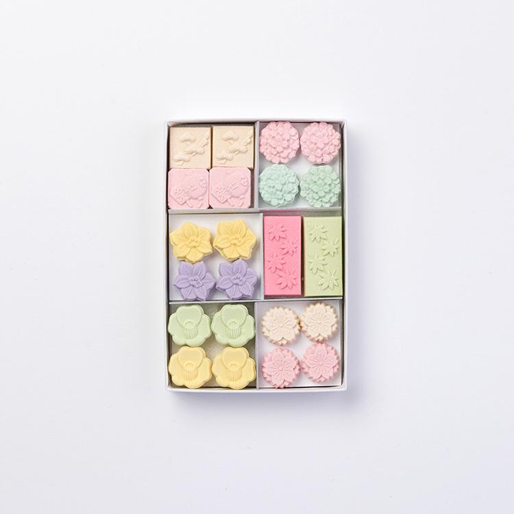 和三宝干菓子 四季彩(箱詰 22個入)