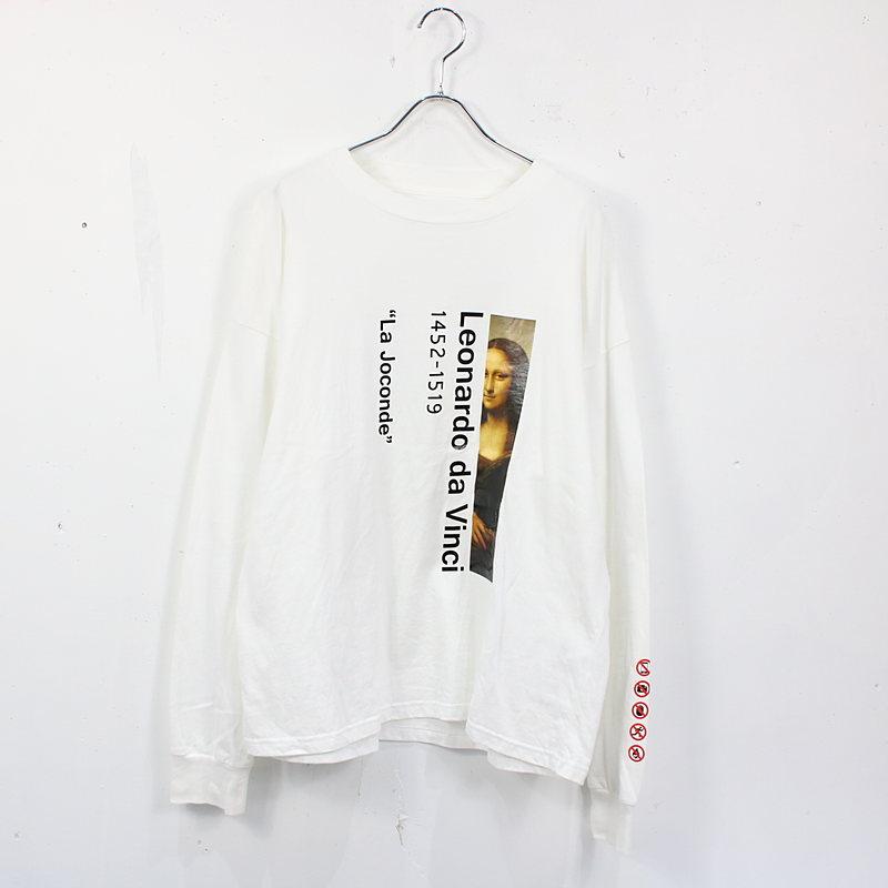 MONKEY TIME / モンキータイム | MONKEY TIME モンキータイム / ART PRINT LSL TEE プリントTシャツ | 2 | ホワイト | メンズ