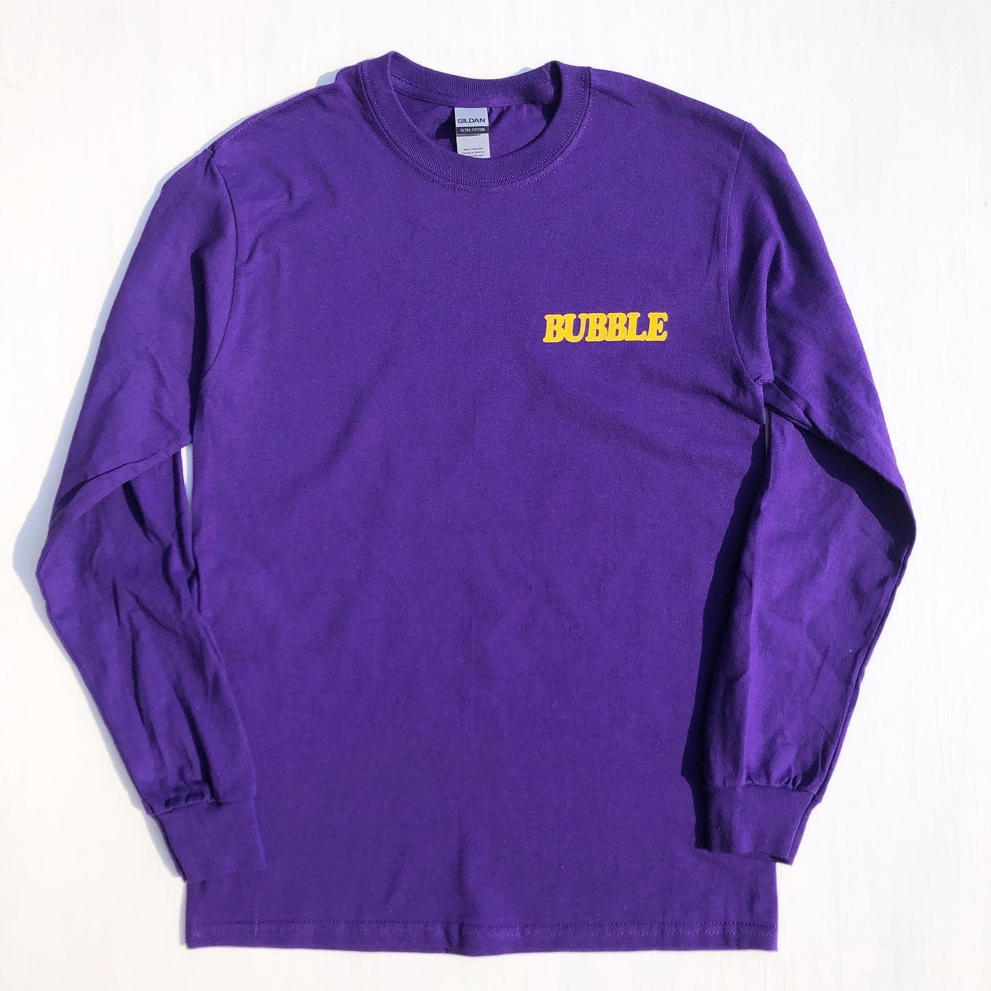"BUBBLE OVER ""BUBBLE"" Long Sleeve Tee"