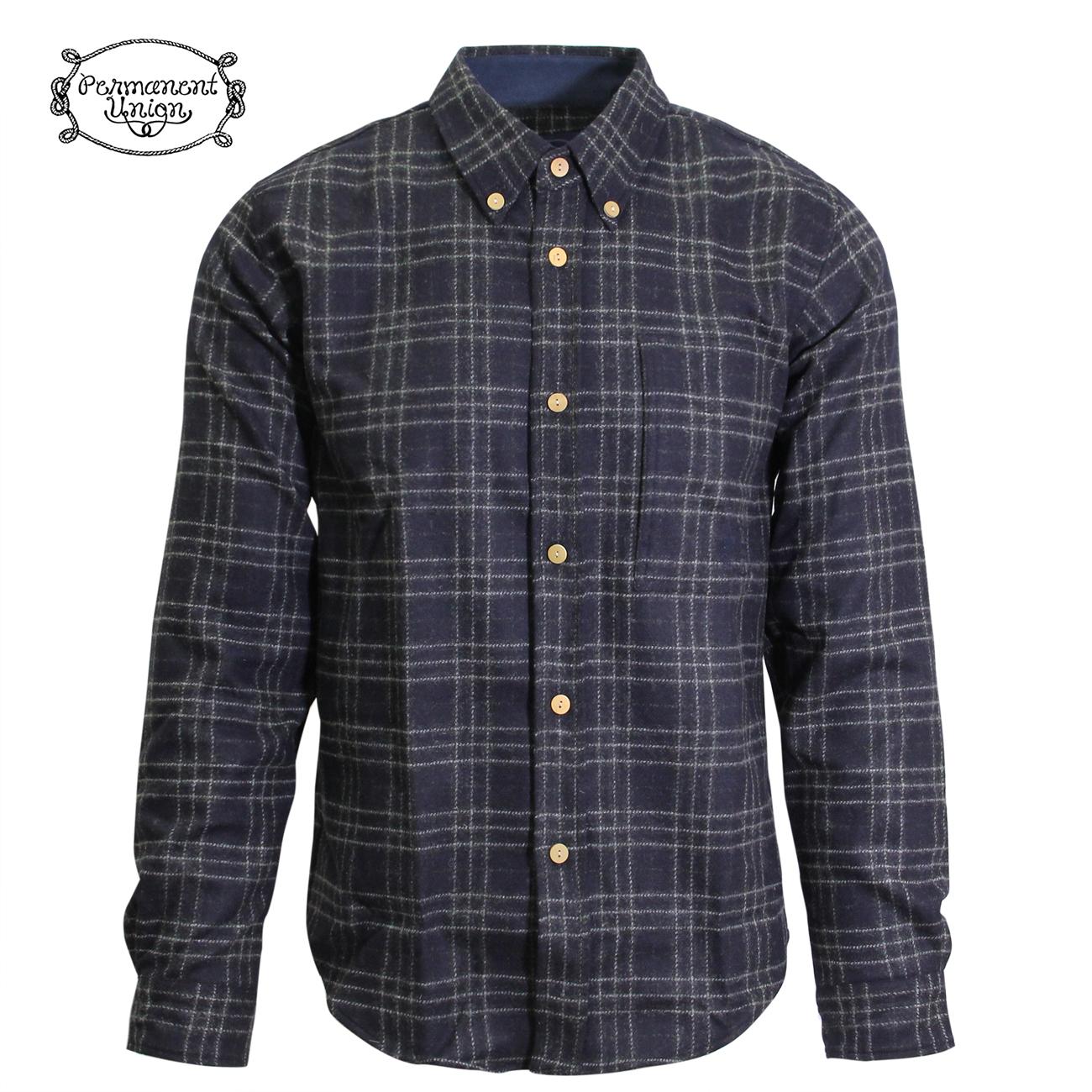 Permanent Union Buttondown Side in pocket Shirt