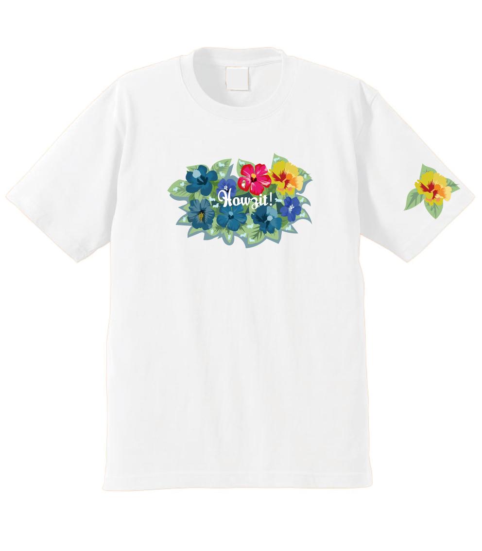 販売終了いたしました!2021春のハワイ企画 限定デザイン! なんとマグカップ or トートバッグ&缶バッジ付き!No.001 ハイビスカスと虫コーギー! 5.6ozTシャツ 3/31まで
