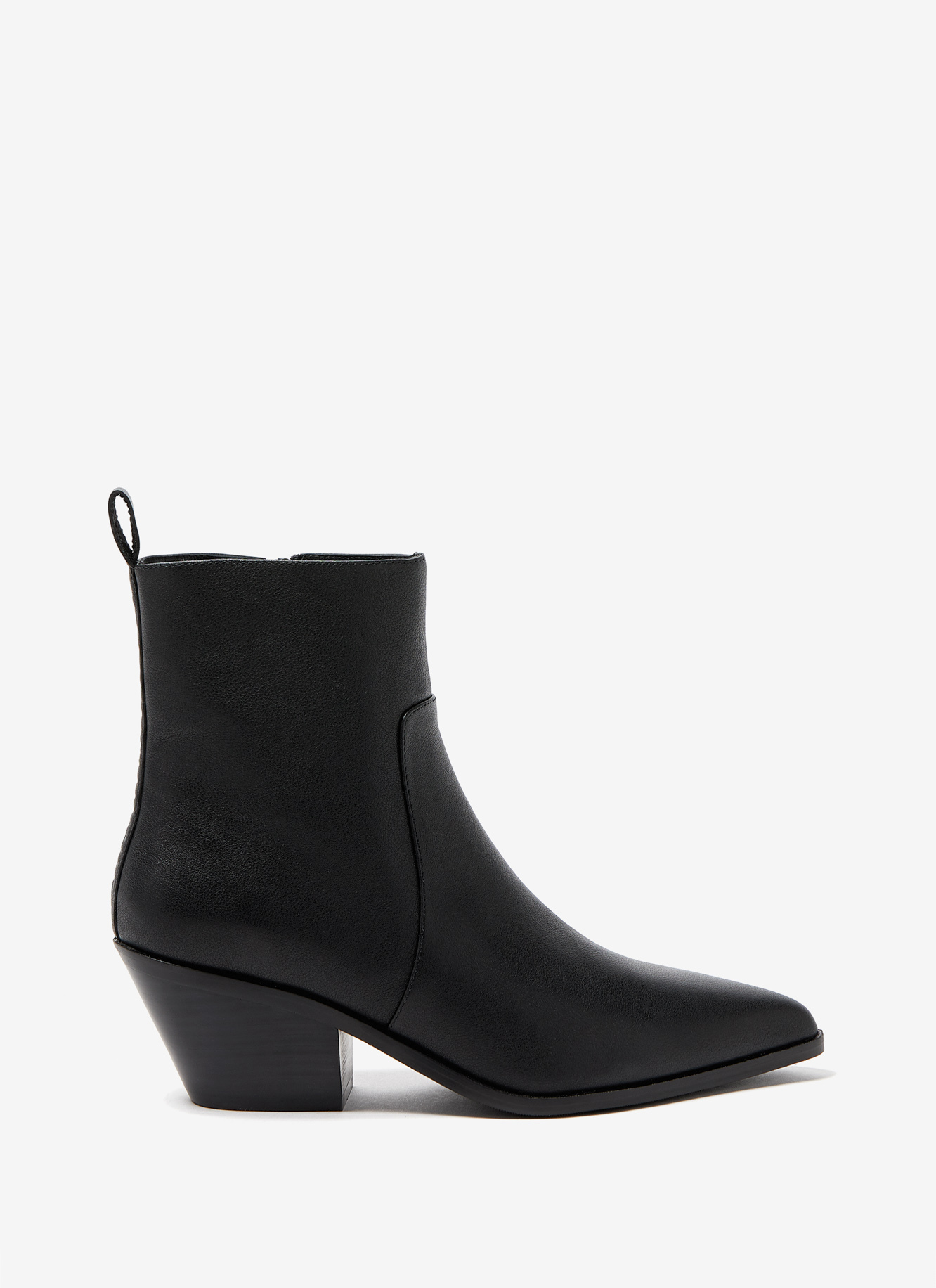 SHORT BOOT WITH SIDE ZIPPER