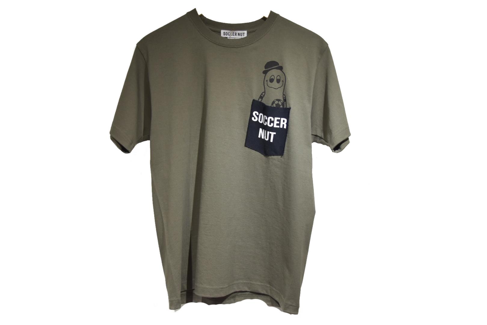 Soccer Nutsポケット付きTシャツ(SNW082)