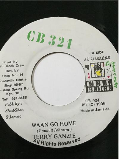 Terry Ganzie(テリーガンジー) - Waan Go Home 【7'】