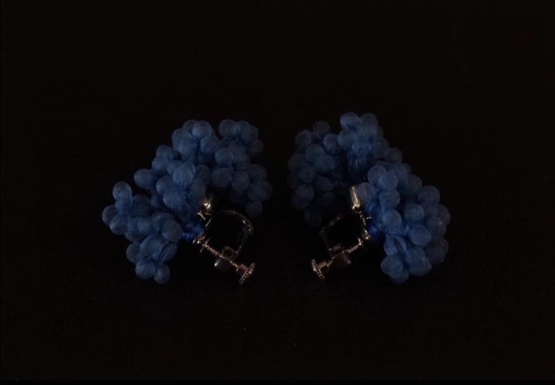 MIONASHIMIZU shibori earring