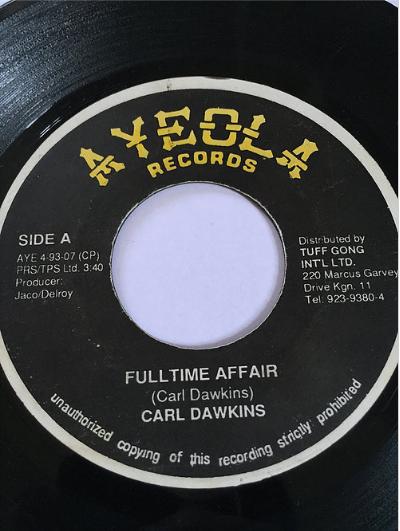 Carl Dawkins(カールドーキンス) - Fulltime Affair【7'】