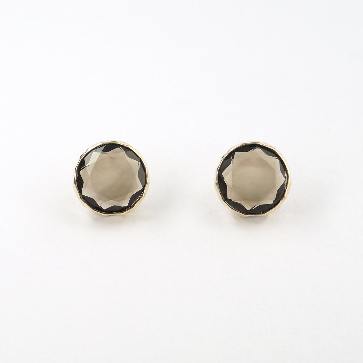 Marbles smoky quartz pierce