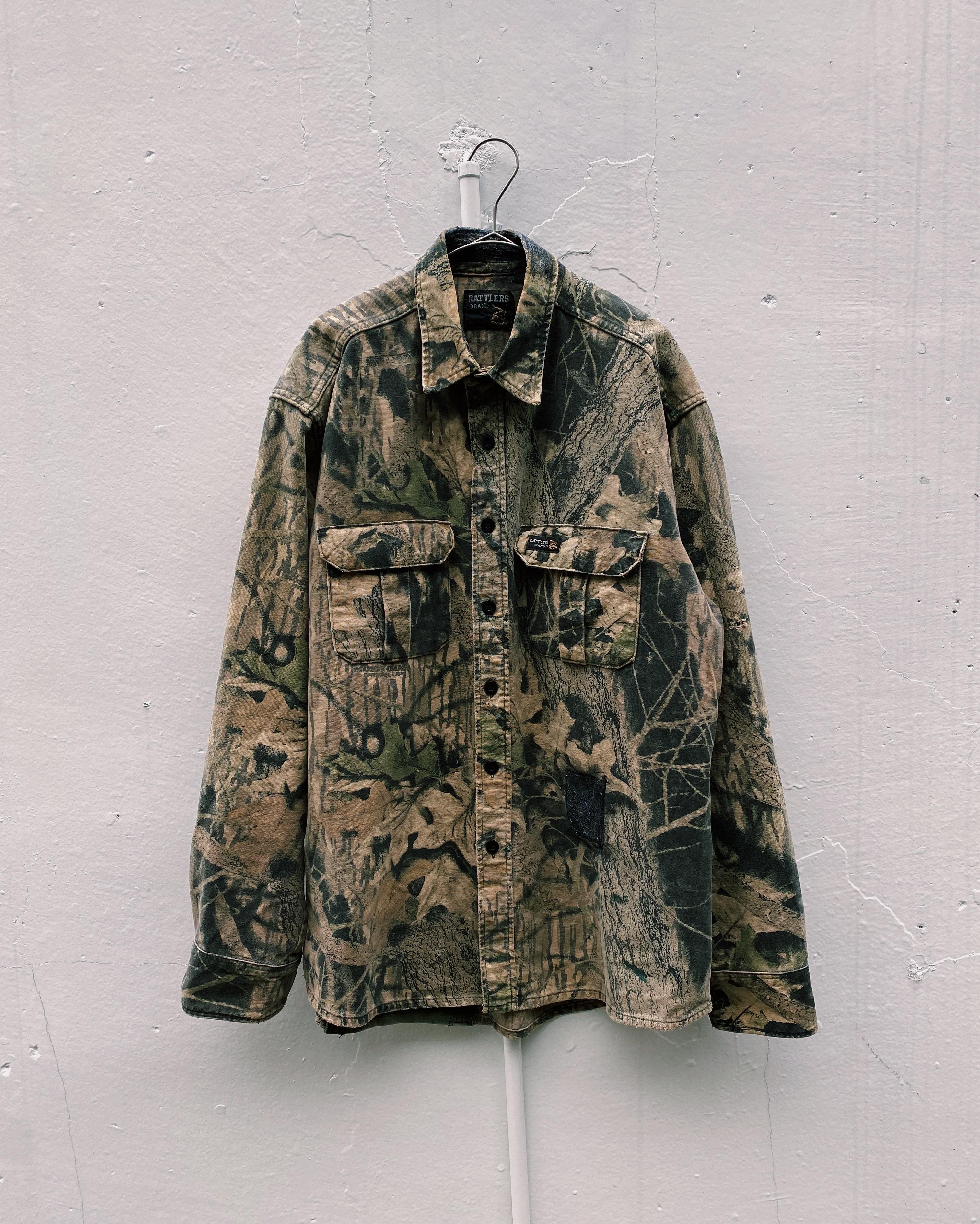 (SH134)Real camo shirt made in USA