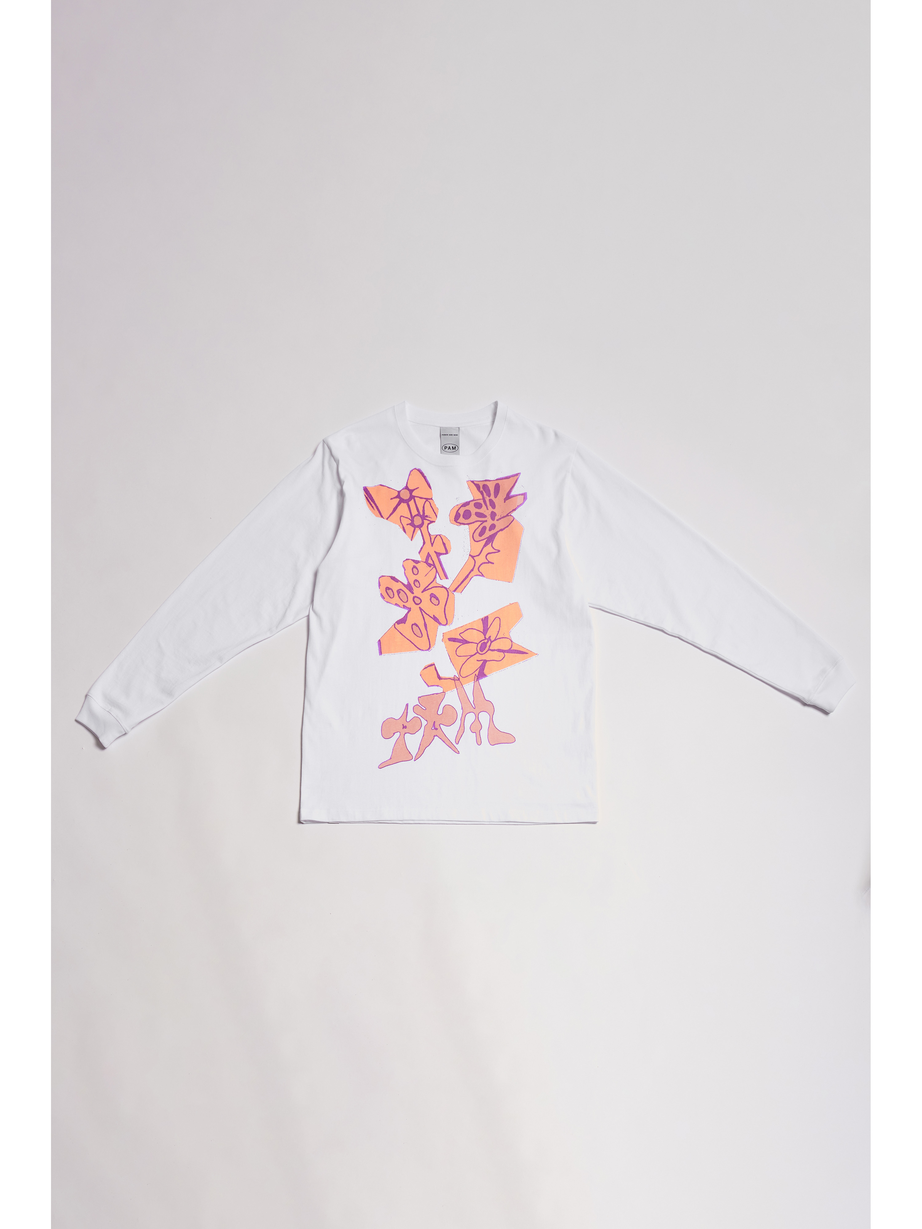 P.A.M. (Perks And Mini) /   SPACE BLOSSOMS PRINTED LS TEE (GRAPHIC BY LEOMI SADLER)